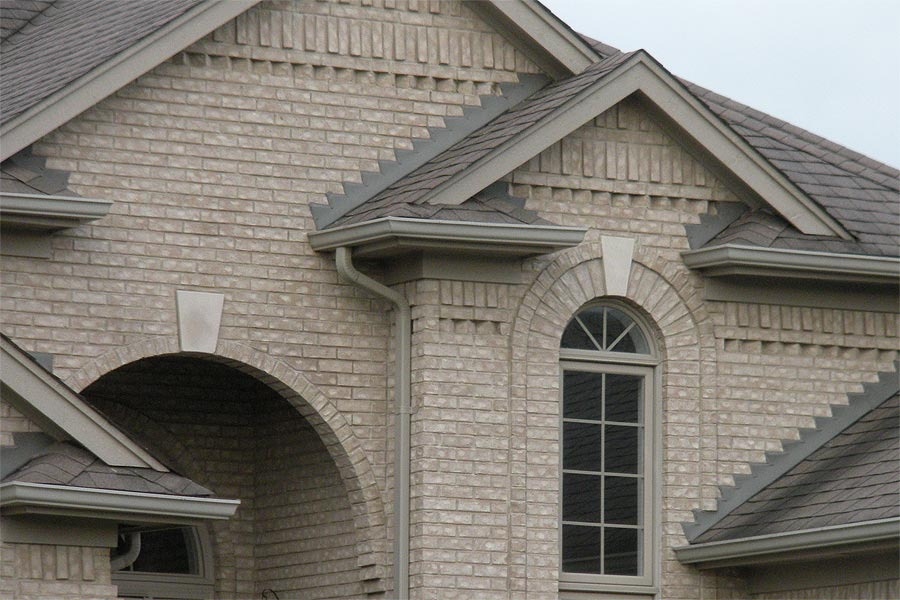 New Construction Brickwork in Macomb MI by Brick Stone Masonry Services  - brickdetailnewhome