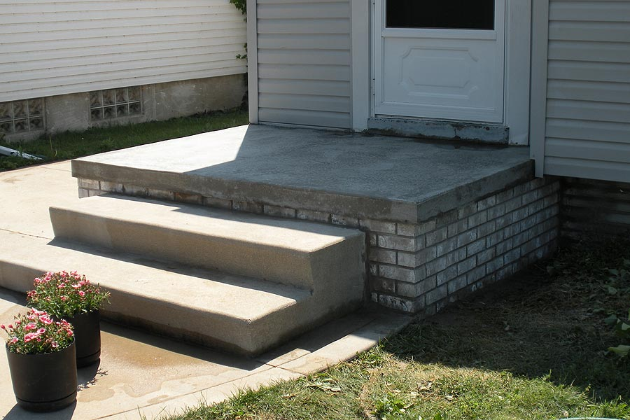 Porch Repair Services in Macomb MI by Brick Stone Masonry Services  - brickporchafter
