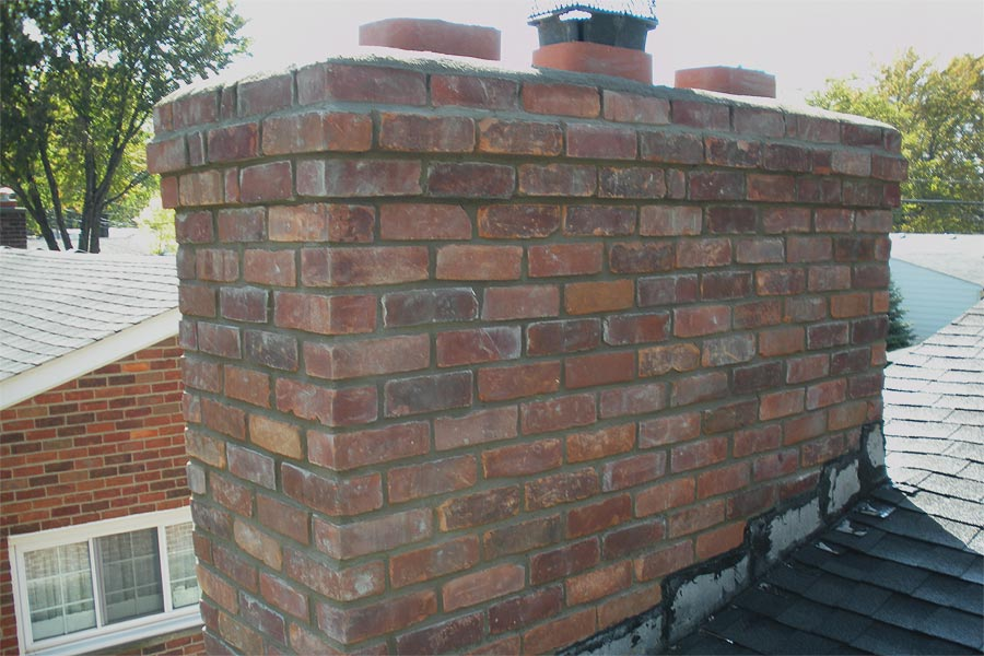 Chimney Repair Services In Macomb MI  by Brick Stone Masonry Services - chimneyrepair2