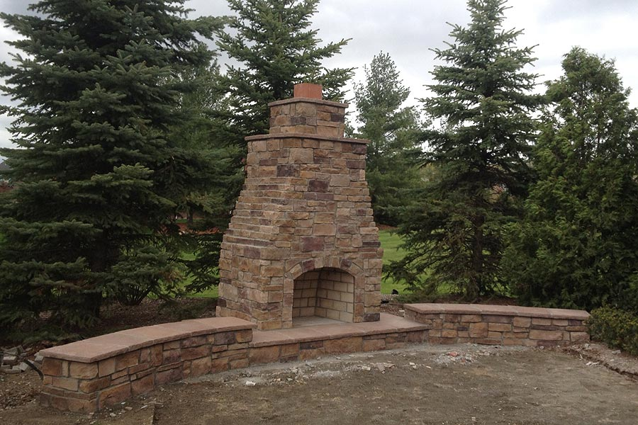 Fireplace, BBQ's, Mailbox Brick Work Services in Macomb MI - outdoorstoneoven