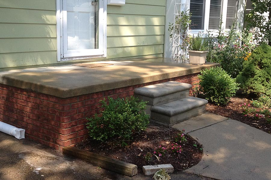 Porch Repair Services in Macomb MI by Brick Stone Masonry Services  - porchrepairafter